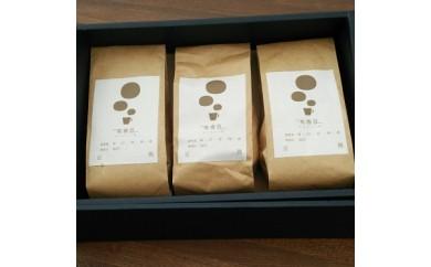 【いいかふぇの自家焙煎】有香豆(ありがとう)珈琲3個セット