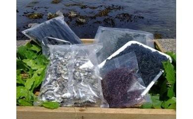 B-009 三陸の乾燥海藻セット