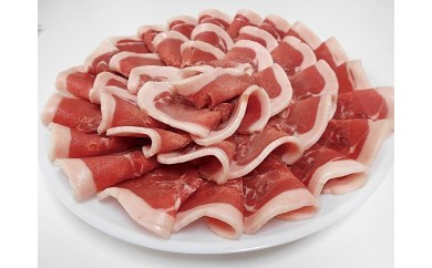 AA07 猪肉2kg(ぼたん鍋用味噌ダレ付)【77500pt】