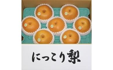 にっこり梨1箱5kg前後(7個)