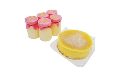 【那須御養卵】極生プリンと半熟ふわとろチーズケーキセット
