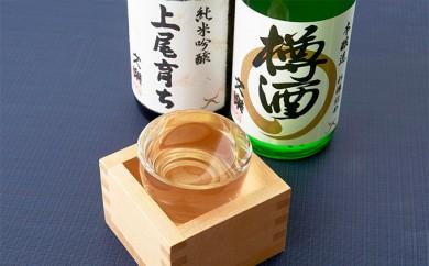 [№5687-0075]文楽 純米吟醸上尾育ち・本醸造樽酒セット