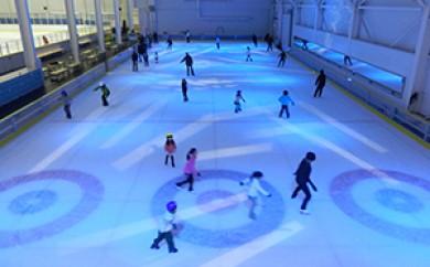 [№5687-0125]スケート滑走無料ペア招待券