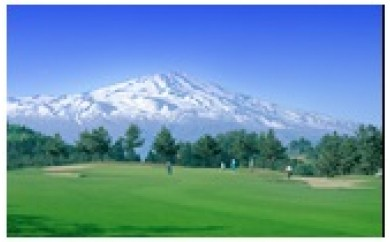 NC36  アイランドゴルフパーク酒田 ゴルフプレー券(1R)