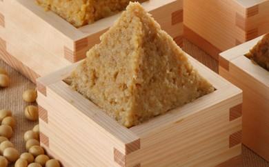 J3-03 江戸時代創業の伝統を継ぐ「小西みそ」樽入純天然米みそ(2kg)