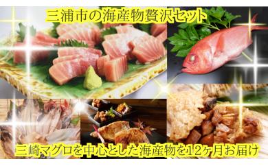 90-1三浦市の海産物定期便セット