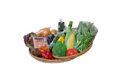 味噌、野菜のセット