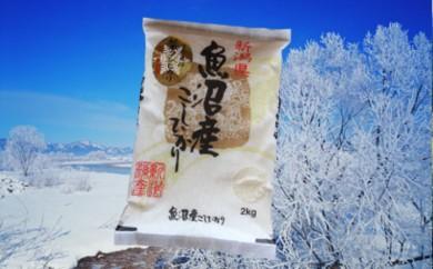 【A2902】魚沼産コシヒカリ 雪中貯蔵米2kg