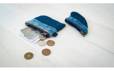 IBB08 空海藍コインケースセット(フィン型+スクウェア型:各一点) iBB 寄付額20,000円