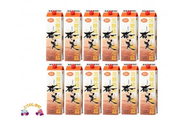 153 黒糖焼酎 「奄美(30度)」1.8ℓパック (12本セット)