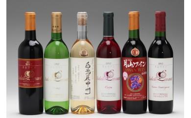 【F-512】月山ワイン6本セット