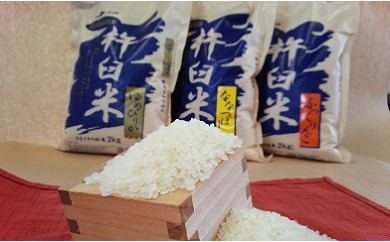 D-403 特別栽培「きなうす米(玄米)」セットD
