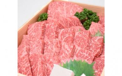 [№5745-0195]「肉の廣岡」厳選! 特選牛ロース焼肉用【極み3種盛り】