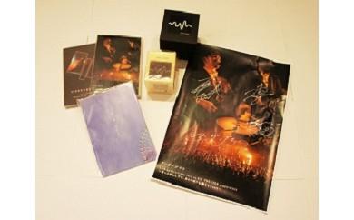 《B5-016》アンダーグラフLIVE DVD2枚&グッズ&メンバー直筆サイン入りポスター