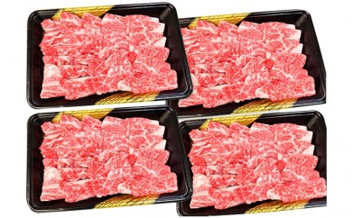 [№5850-0114]オリーブ牛 上カルビ2kg