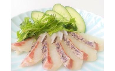 (A-46)鮮度抜群!延岡産活〆真鯛の湯引きお刺身