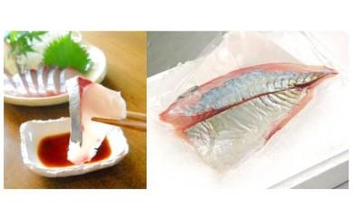 (A-44)高級鮮魚!延岡産活〆シマアジのお刺身