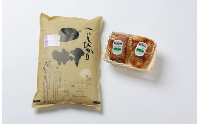 A-13 お米・角煮・煮豚セット