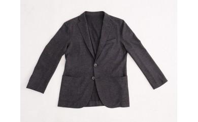 【グレー】オンリーワン素材を使った「Bebrain」メンズジャケット
