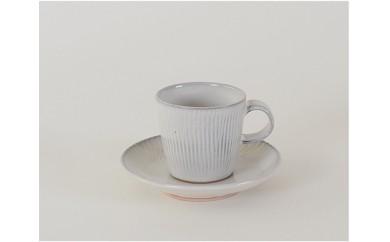 F100.【国造焼】コーヒーカップ&ソーサー