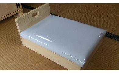 D-090 手作り木製 お人形用ベッド お人形遊びにオススメ