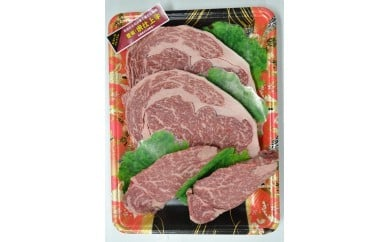 F-01 豊後・米仕上牛ロース・ヒレステーキセット(B)