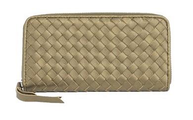 320.バルコスメッシュレザー財布(ブロンズ)