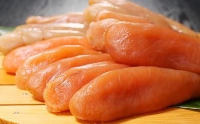 北海道近海産無着色たらこ贅沢盛り1kg!(A206)