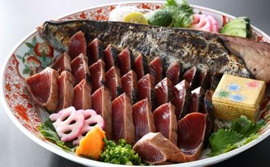 A1-32 こだわり一本釣りの藁焼カツオタタキ(血合い無し)約2kg