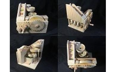 5-1 手作り木のおもちゃ「ビー玉からくり3連トルネード」数量限定!