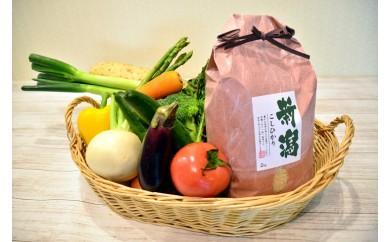 聖籠産有機米・季節野菜セット
