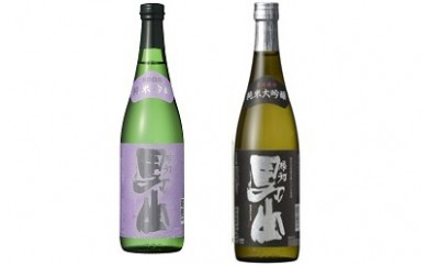 【C‐19】根知男山 純米大吟醸・純米吟醸セット