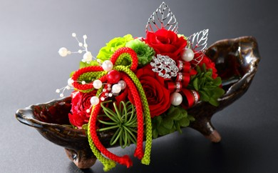 R3-01 変わらない美しさを伝統工芸で彩る「上野焼&プリザーブドフラワー」