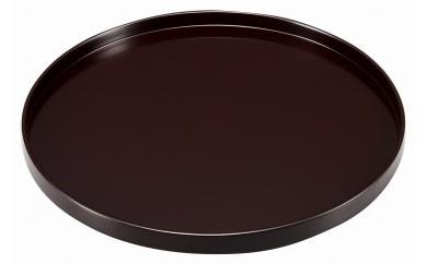 輪島塗 丸盆(うるみ、尺一寸)