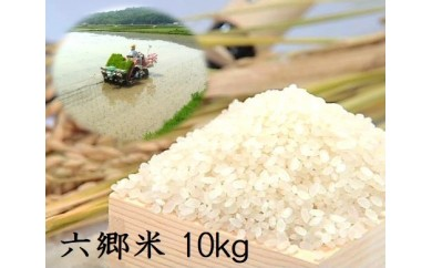 E-10 【先行予約】自然の恵みたっぷり六郷米10kg