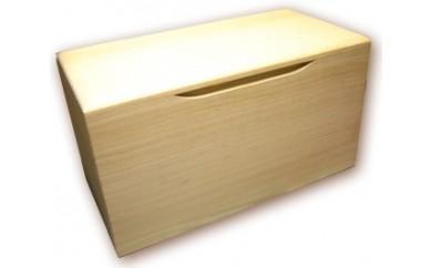 B3-09.桐製米びつ5kgサイズ(無地)