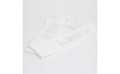 D-2901刺繍半衿「波に千鳥」
