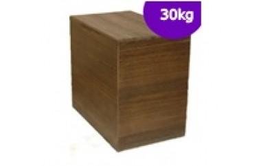 F3-03.桐製米びつ30kgサイズ(焼桐)