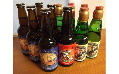 B2-02.泉州オーシャンビールとだんじりラムネ(各6本)