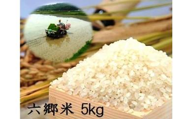 C-30 【先行予約】自然の恵みたっぷり六郷米5kg