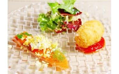 B1【Chez みなみ】フランス料理とパスタのランチコース(ペア)