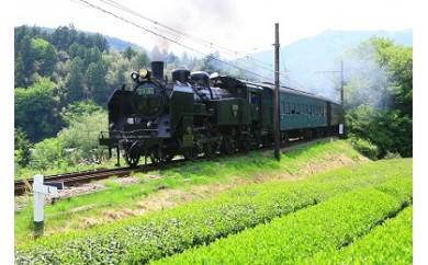 023008 大井川鐵道SL列車乗車券
