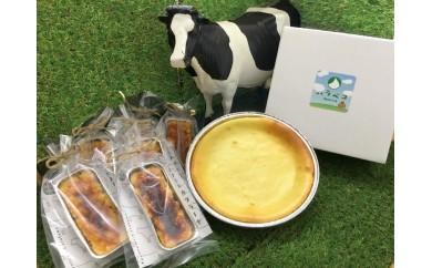 K-02 ベイクドチーズケーキ&とよとみカタラーナセット