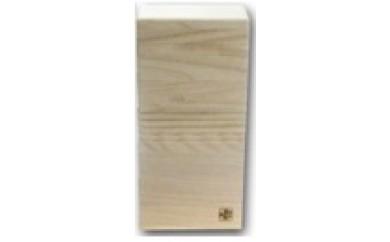 B3-07.桐製冷蔵庫用米びつ2kgサイズ(無地)