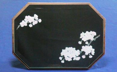 JE-005 里山彩鏡・桜置き型面取り鏡