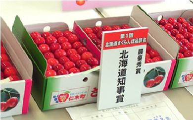【知事賞受賞農園】(佐藤錦500g×2)さくらんぼ(7月中旬頃)