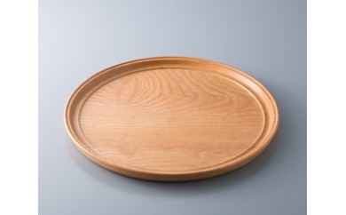 H18 木製 薄盆 玉杢