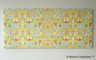 【ムーミン基金限定】MOOMIN ファブリックフレーム Lサイズ(パターン)