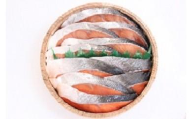 B09 本樽入紅鮭、時鮭、かに海鮮ぶっかけ丼セット