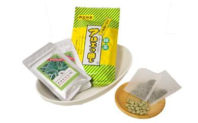 粒状アロエとアロエ茶の「飲むアロエセット」